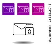 email and lock icon. simple...