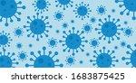 coronavirus covid 19 pandemic... | Shutterstock .eps vector #1683875425