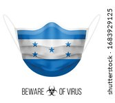 medical mask with national flag ...   Shutterstock .eps vector #1683929125