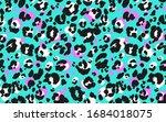 leopard skin seamless pattern....   Shutterstock .eps vector #1684018075