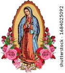 Our Lady Guadalupe With Poster...