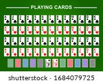 playing cards full deck for... | Shutterstock .eps vector #1684079725