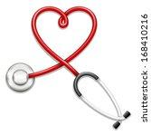 stethoscope | Shutterstock .eps vector #168410216