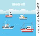 draw boat vector collection...   Shutterstock .eps vector #1684166152