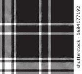 classic plaid tartan seamless...   Shutterstock .eps vector #1684177192