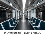 Interior View Of A Subway....