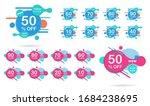 sale tags set vector badges... | Shutterstock .eps vector #1684238695
