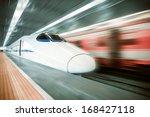 High Speed Train Passing...