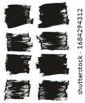 flat paint brush thin half... | Shutterstock .eps vector #1684294312