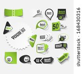 collection premium and high... | Shutterstock .eps vector #168430316