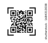 Vector Icon Of The Qr Code....