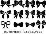 illustration set of bow tie ... | Shutterstock .eps vector #1684319998
