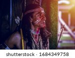 Portrait Of Americans Indian...