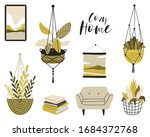 illustration of a cozy home. a... | Shutterstock .eps vector #1684372768