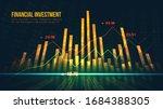 stock market or forex trading...   Shutterstock .eps vector #1684388305
