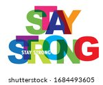 stay strong   vector...   Shutterstock .eps vector #1684493605