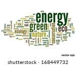 vector concept or conceptual... | Shutterstock .eps vector #168449732