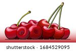 vector simple illustration a... | Shutterstock .eps vector #1684529095