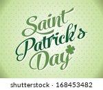 Typographic Saint Patrick Day...