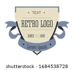 corporate identity in retro... | Shutterstock .eps vector #1684538728