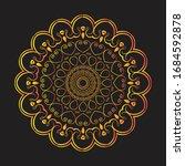 mandala graphic design for art  ... | Shutterstock .eps vector #1684592878