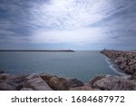 Entrance To The Harbor Or Port...