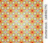 arabic seamless ornament.... | Shutterstock .eps vector #168482792