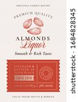 family recipe almonds liquor... | Shutterstock .eps vector #1684828345