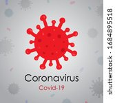 corona virus sign icon  corona... | Shutterstock .eps vector #1684895518
