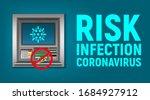 warning banner risk of... | Shutterstock .eps vector #1684927912