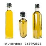 bottle with olive oil   Shutterstock . vector #168492818
