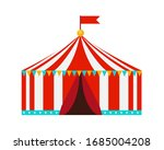 tent circus icon on white...   Shutterstock .eps vector #1685004208