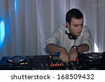Handsome Young Disc Jockey...