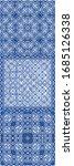 ethnic ceramic tile in... | Shutterstock .eps vector #1685126338