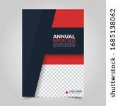 modern business cover for... | Shutterstock .eps vector #1685138062