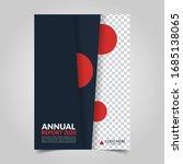 modern business cover for... | Shutterstock .eps vector #1685138065