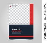 modern business cover for... | Shutterstock .eps vector #1685138092
