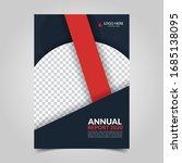 modern business cover for... | Shutterstock .eps vector #1685138095
