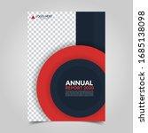modern business cover for... | Shutterstock .eps vector #1685138098