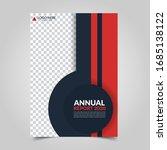 modern business cover for... | Shutterstock .eps vector #1685138122