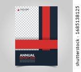 modern business cover for... | Shutterstock .eps vector #1685138125