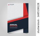 modern business cover for... | Shutterstock .eps vector #1685138128