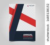 modern business cover for... | Shutterstock .eps vector #1685138152