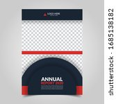modern business cover for... | Shutterstock .eps vector #1685138182