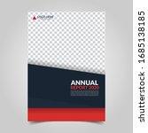 modern business cover for... | Shutterstock .eps vector #1685138185