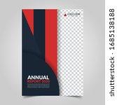 modern business cover for... | Shutterstock .eps vector #1685138188