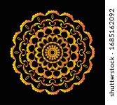 mandala graphic design for art  ... | Shutterstock .eps vector #1685162092