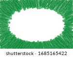 green leaf branches on white... | Shutterstock .eps vector #1685165422