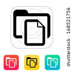folder with files icon. vector...