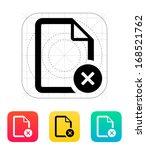 remove file icon. vector...